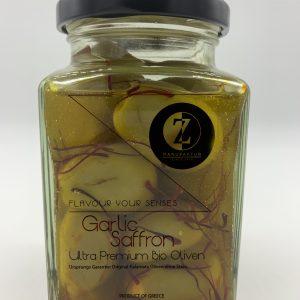 Oliven Garlic Saffron
